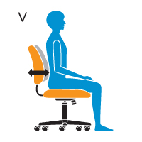 V - Lumbar Depth Adjustment