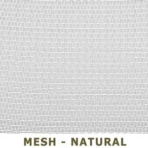 Mesh Natural or Light Grey