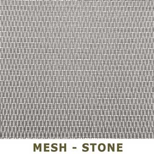 Mesh Stone or Brown