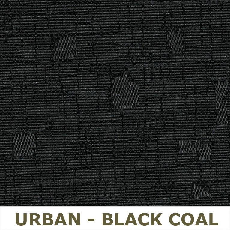 Urban, Black Coal (UR22) with Black (MS69) mesh